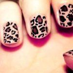 Тигровые ногти для самых стильных