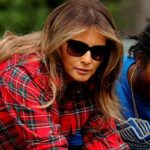 Мелания Трамп обрабатывала землю в рубашке за 1380 $